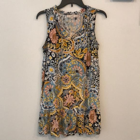 Ann Taylor LOFT Petites Floral Shift Dress SP